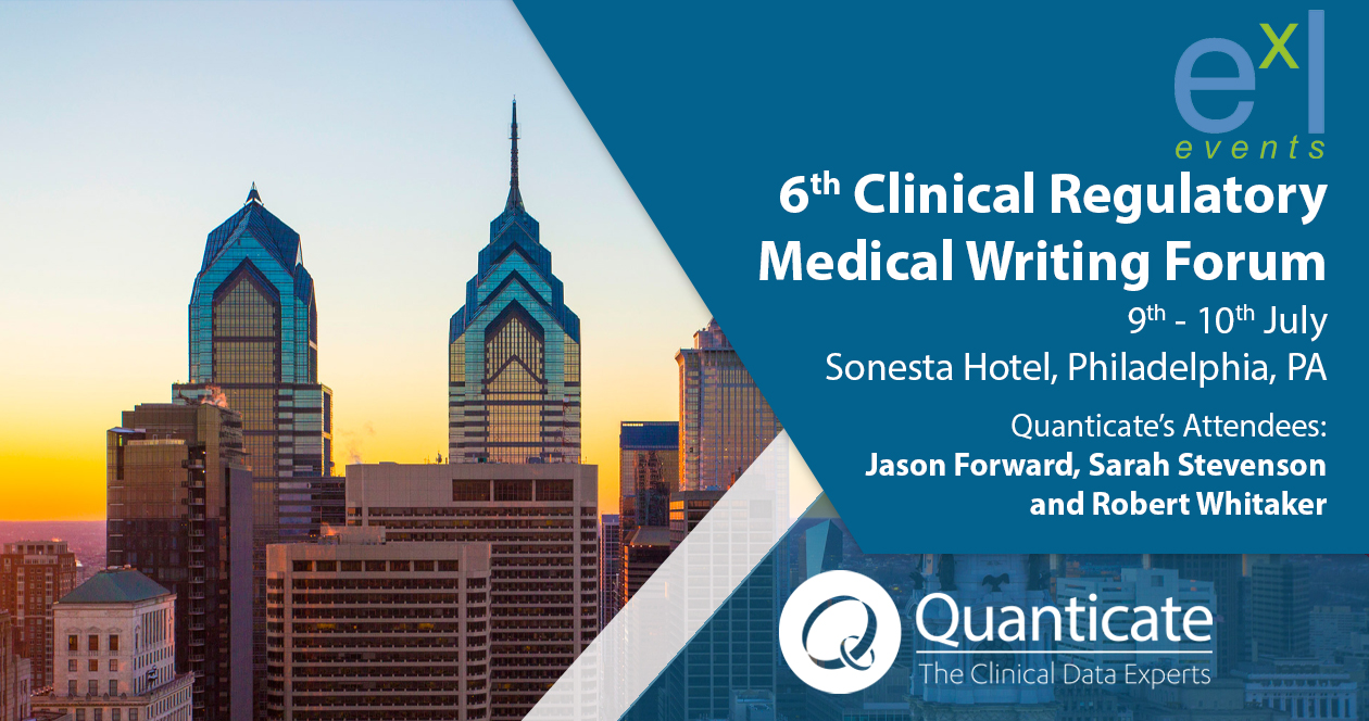 Clinical Regulatory Medical Writing Forum 2019
