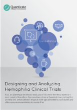 Designing and Analyzing Hemophilia Clinical Trials