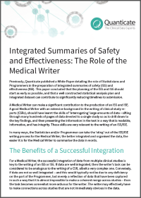 Integrated Summaries Medical Writing