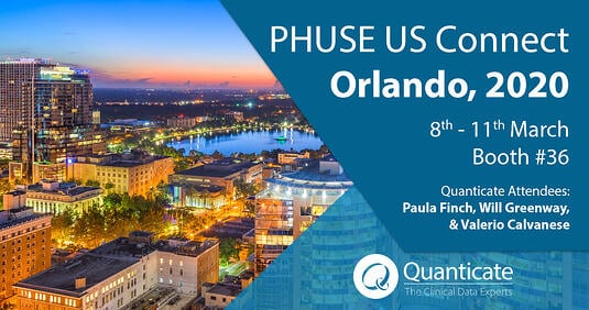 Quanticate at PHUSE US Connect 2020