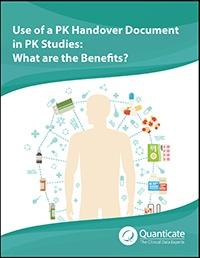 PK Handover Document in  PK Studies