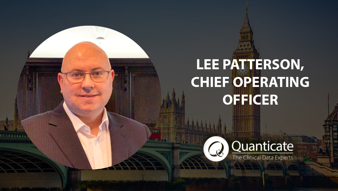 Quanticate Appoints Lee Patterson as Chief Operating Officer