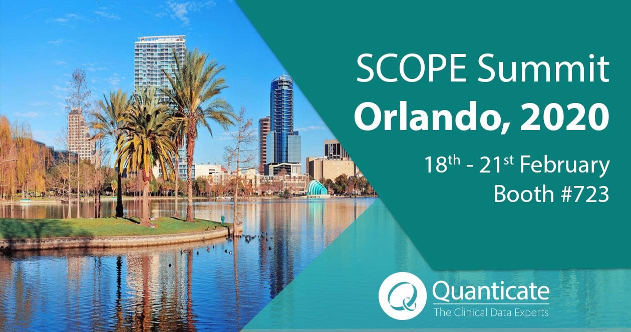 Quanticate at SCOPE Summit 2020