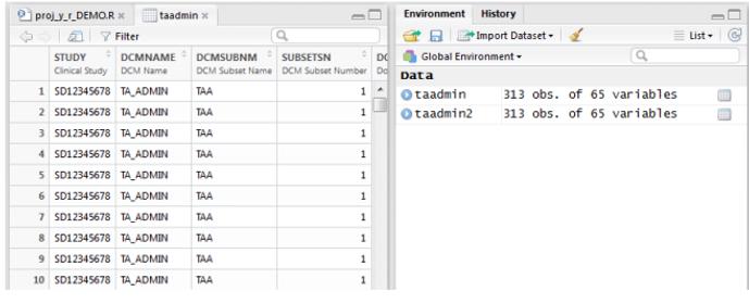 RStudio Data R Programming Datasets