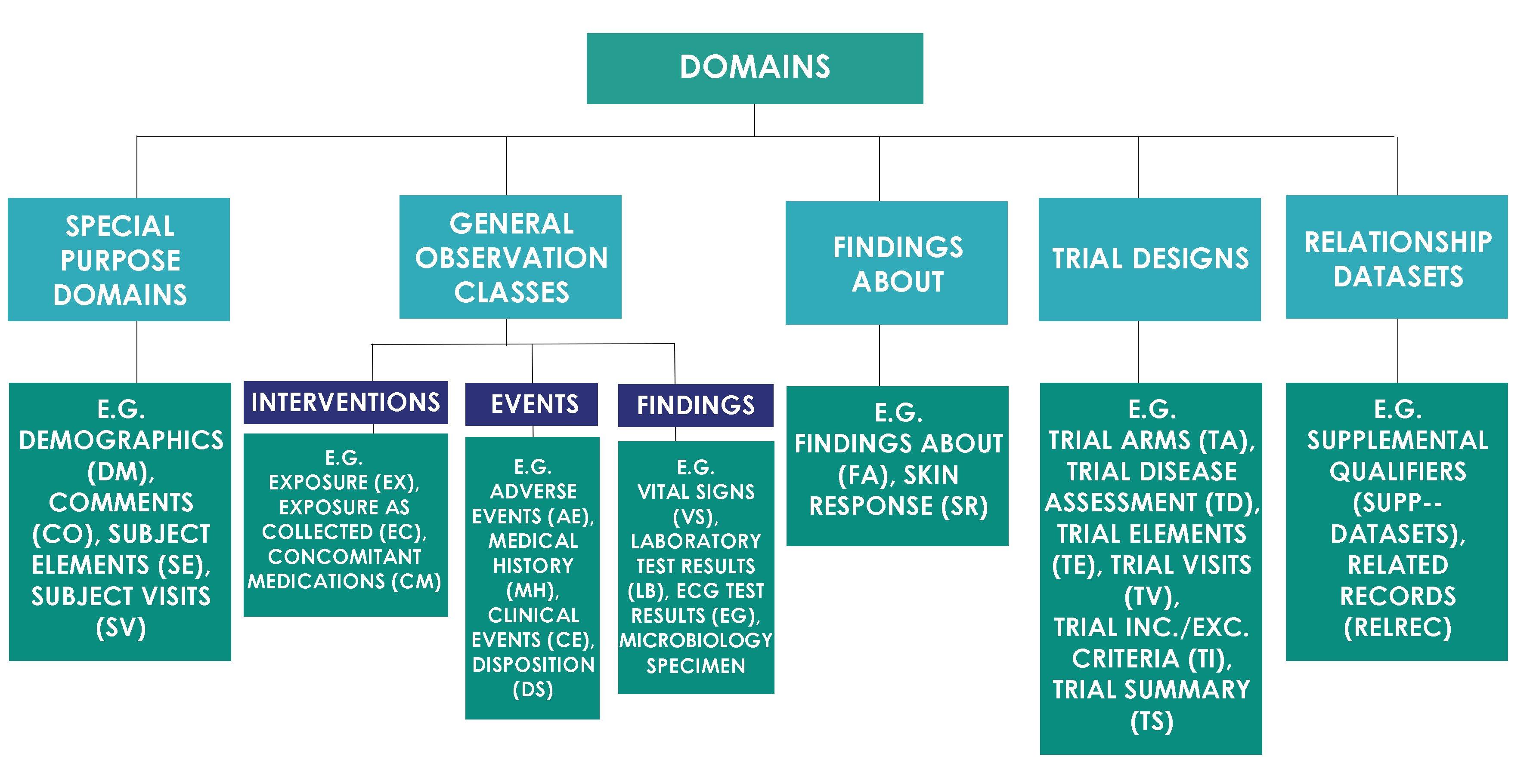 SDTM Domain Classes