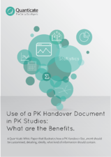 Pharmacokinetics Handover Document in PK Studies