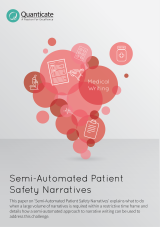 Semi Automated Patient Safety Narratives