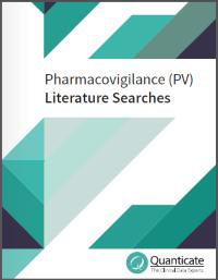 pharmacovigilance literature search
