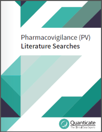 pharmacovigilance literature search