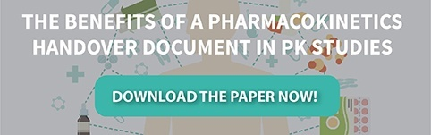 The Benefits of Pharmacokinetics (PK) Handover Document in PK Studies