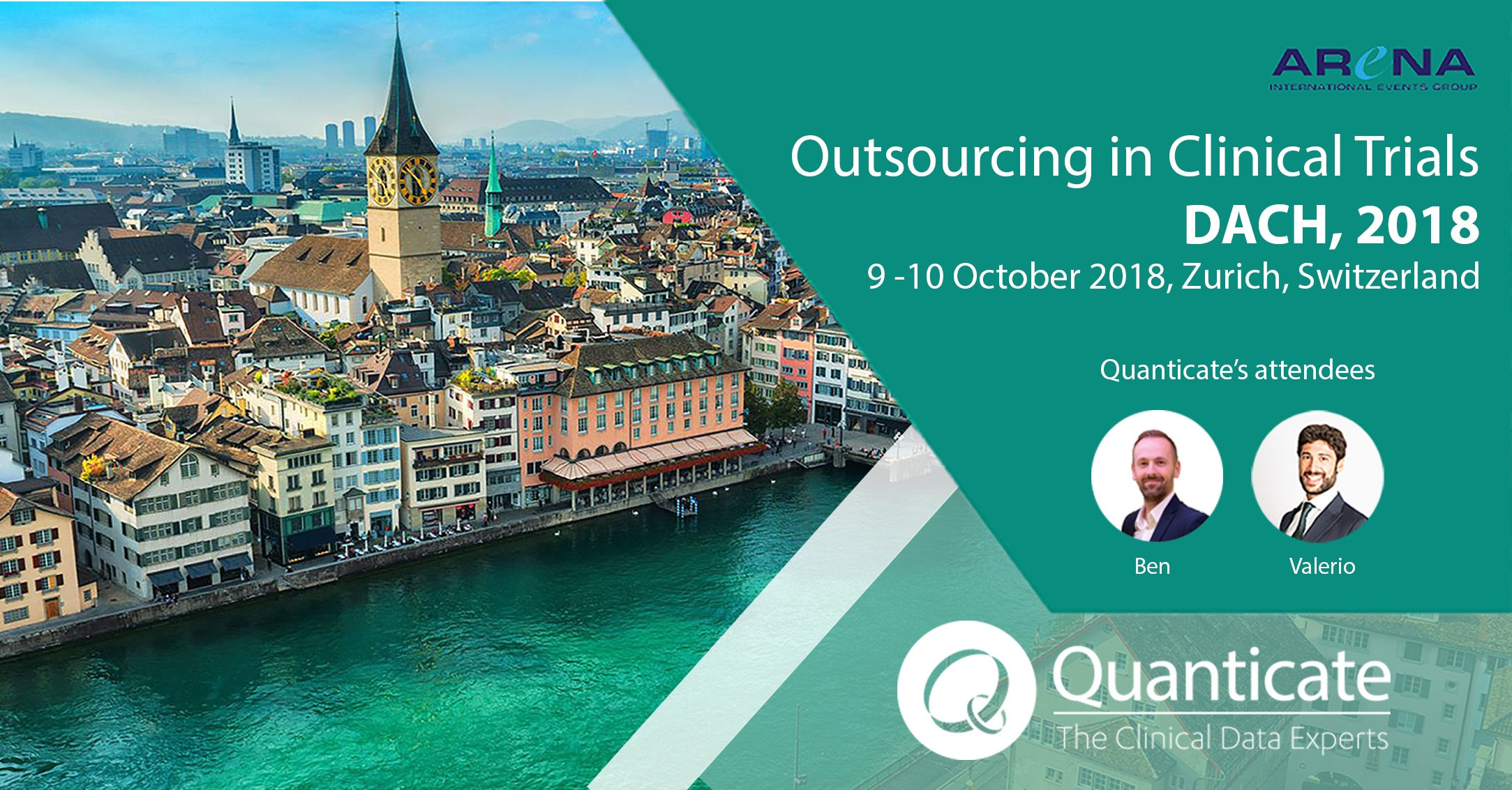 Quanticate Exhibits at the Outsourcing in Clinical Trials DACH 2018 - Featured Image