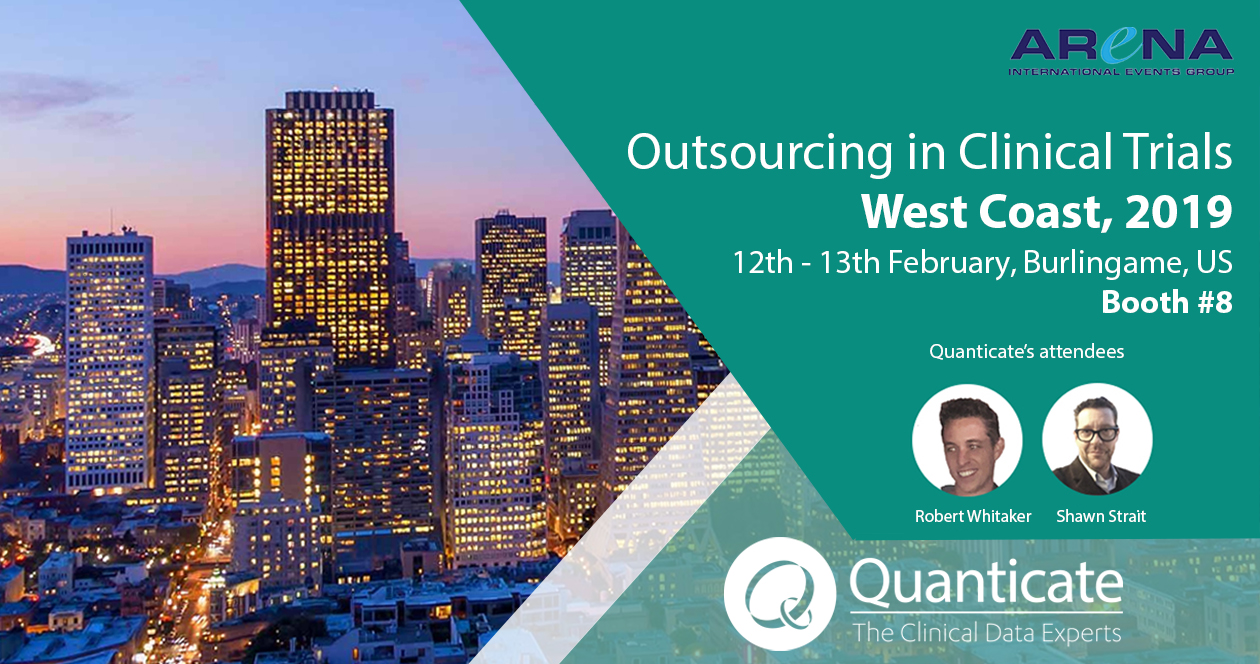 Quanticate Exhibits at the Outsourcing in Clinical Trials West Coast 2019 - Featured Image