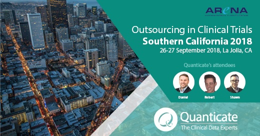 Quanticate Exhibits at the Outsourcing in Clinical Trials Southern California 2018 - Featured Image