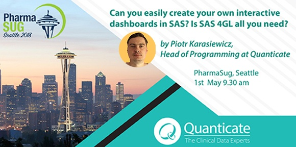 Speaker Session on Data Visualizations using SAS at PharmaSug Seattle 1st May - Featured Image
