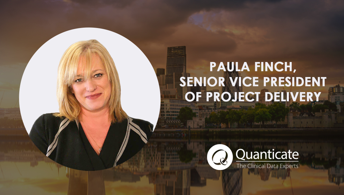 Quanticate Appoints Paula Finch as SVP Project Delivery - Featured Image