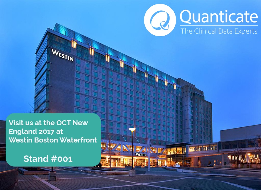 Quanticate Exhibits at the OCT New England 2017 Conference - Featured Image